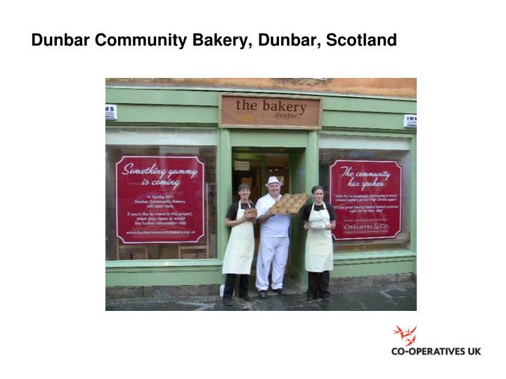 Dunbar Community Bakery, Dunbar, Scotland