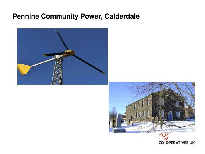Pennine Community Power, Calderdale