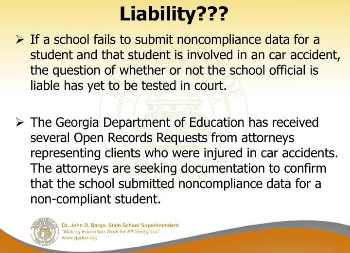 Liability???