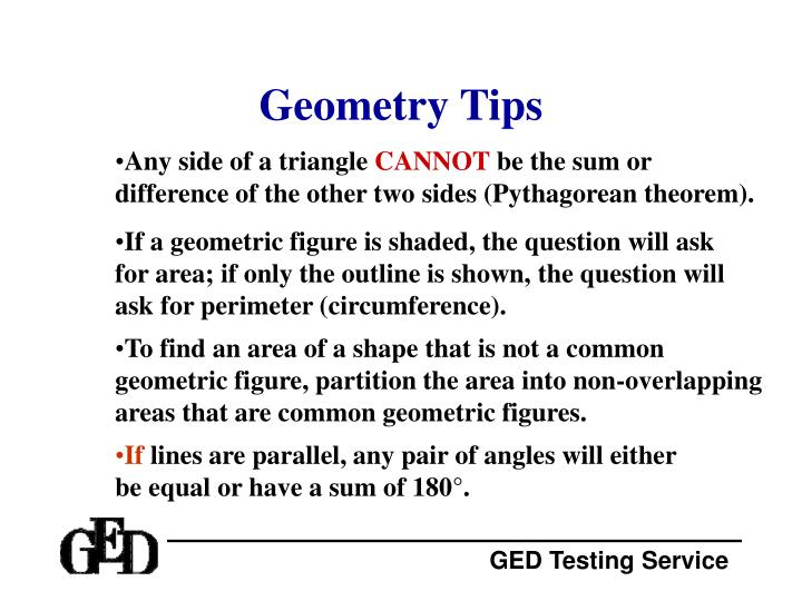 Geometry Tips