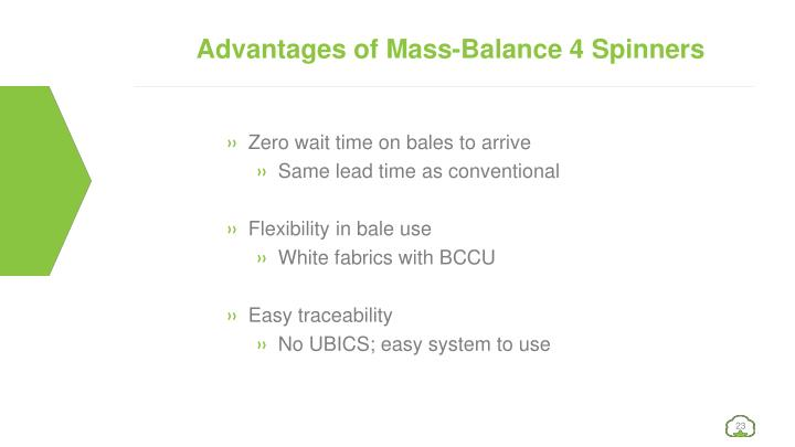 Advantages of Mass-Balance 4 Spinners