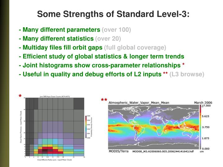 Some Strengths of Standard Level-3: