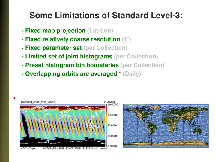 Some Limitations of Standard Level-3: