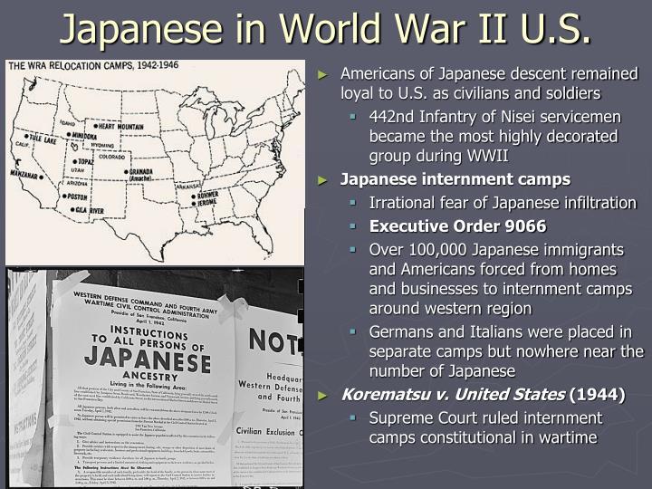 Japanese in World War II U.S.