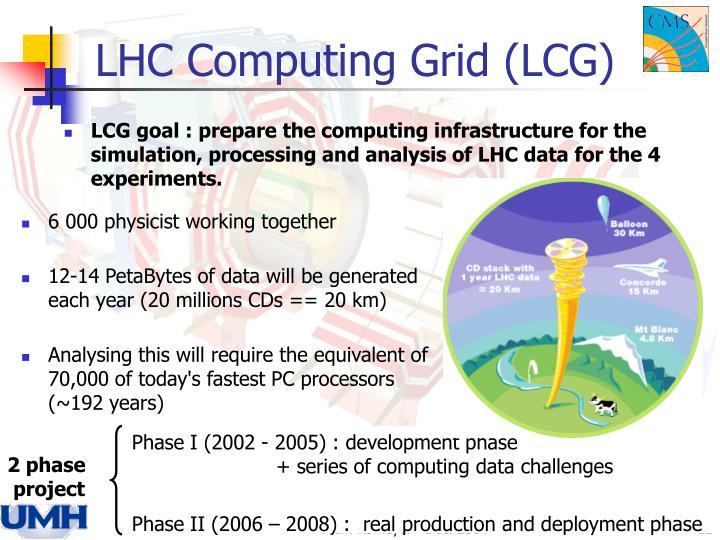 LHC Computing Grid (LCG)