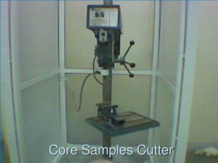Core Samples Cutter