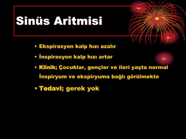 Sinüs Aritmisi