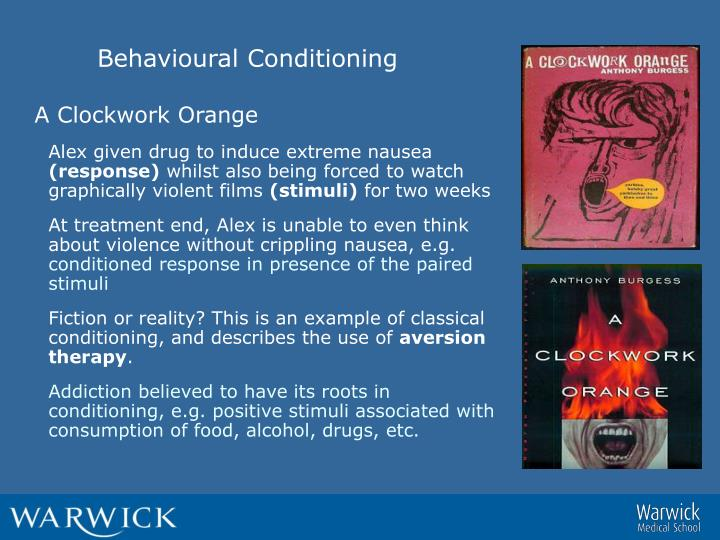 Behavioural Conditioning