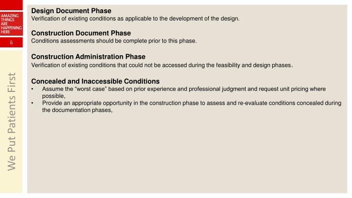 Design Document Phase