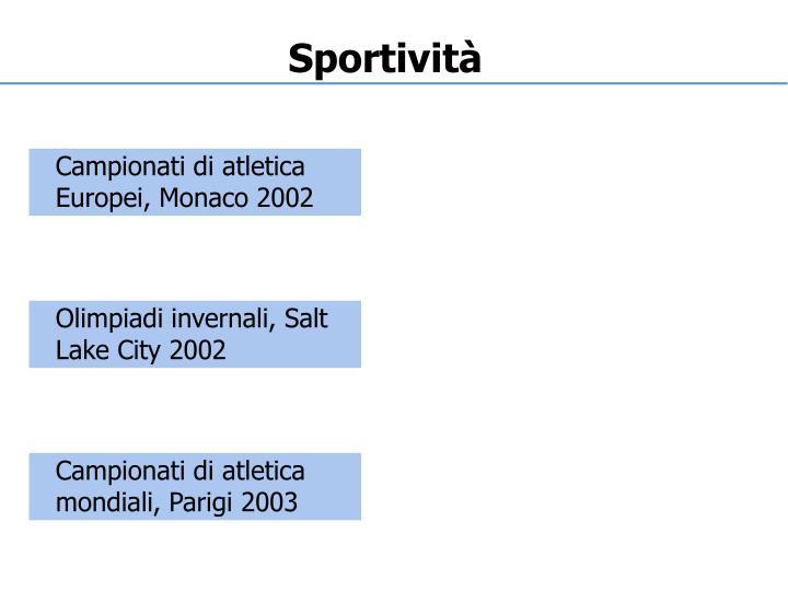 Sportività