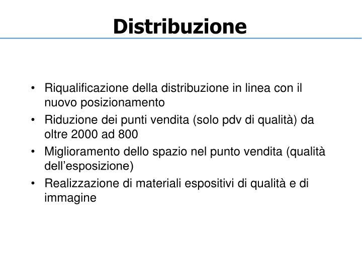 Distribuzione