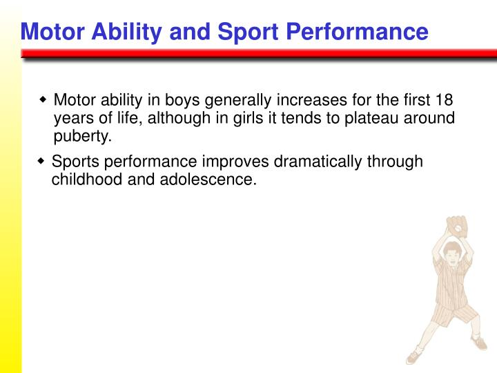 Motor Ability and Sport Performance