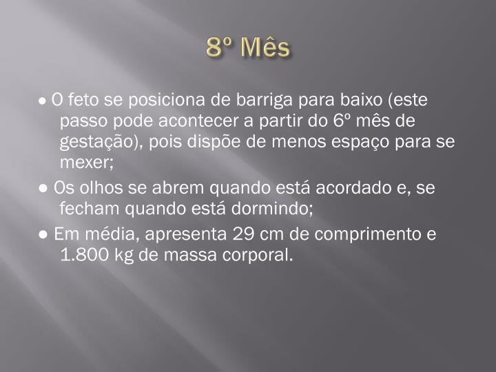 8º Mês