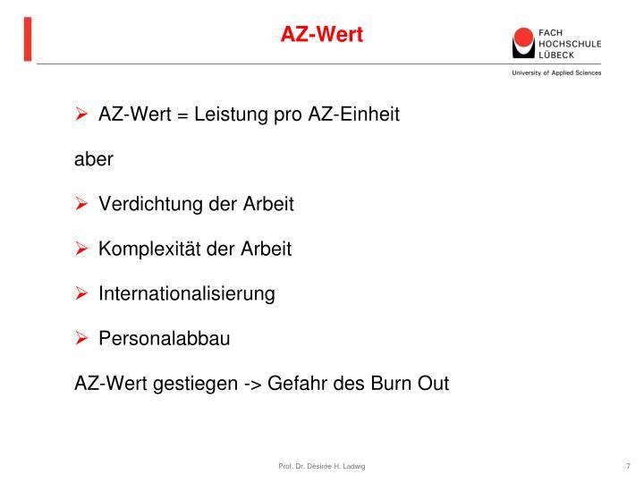 AZ-Wert