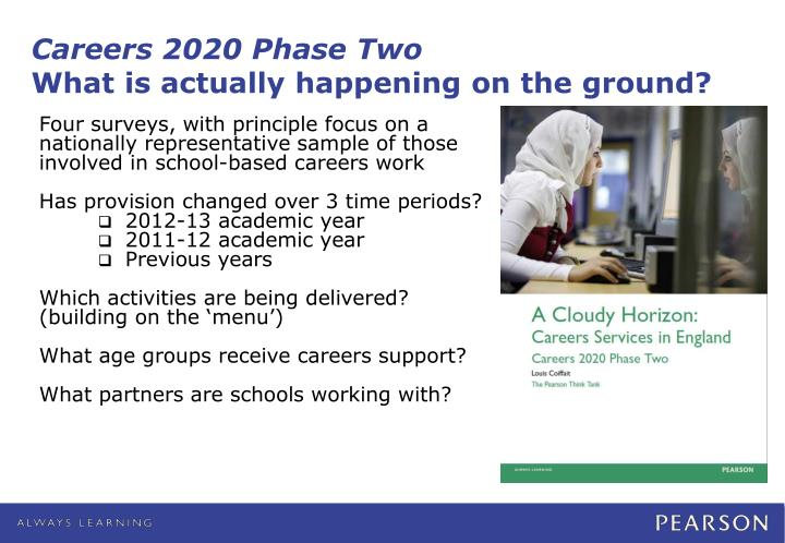 Careers 2020 Phase Two