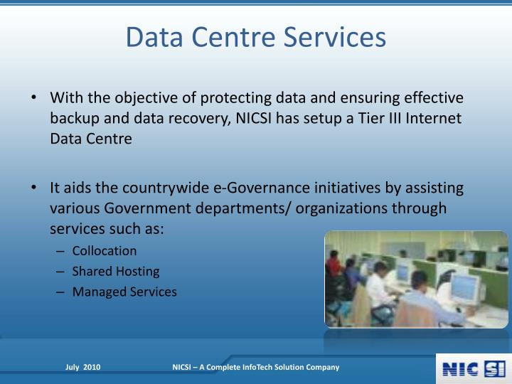 Data Centre Services