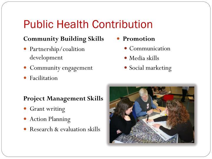 Public Health Contribution