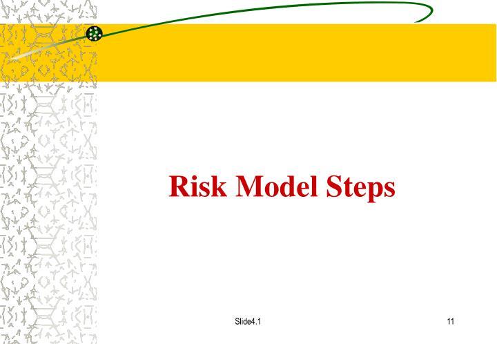 Risk Model Steps