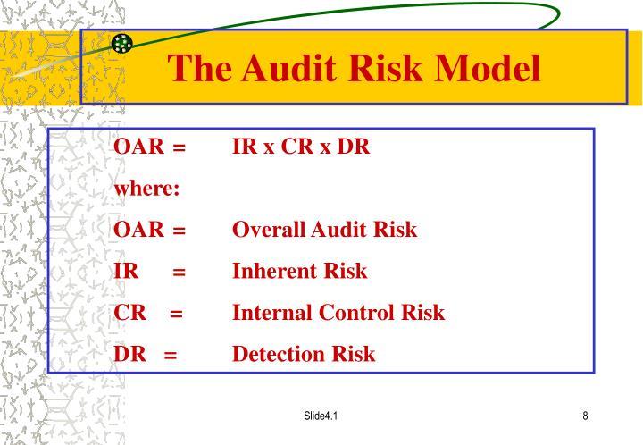 The Audit Risk Model