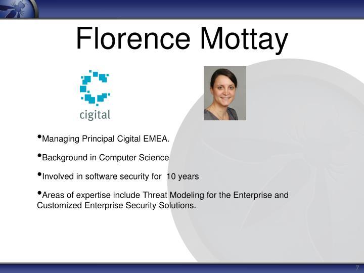 Florence Mottay