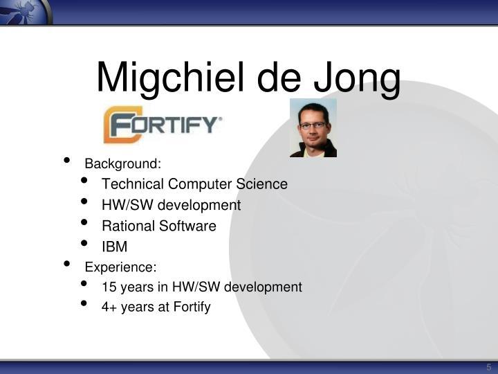 Migchiel de Jong