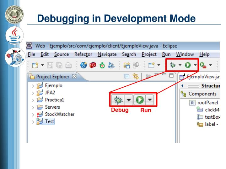 Debugging in Development Mode
