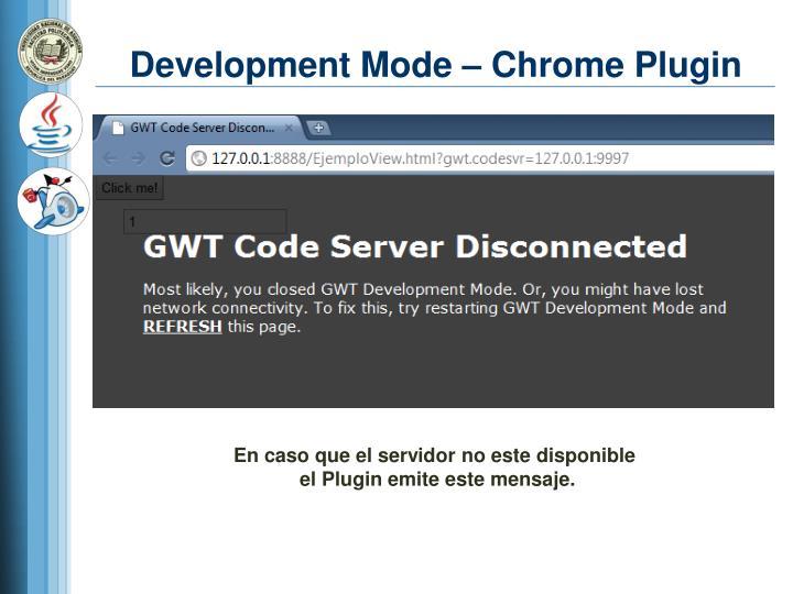 Development Mode – Chrome Plugin