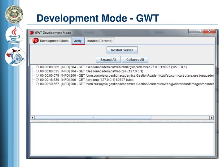 Development Mode - GWT