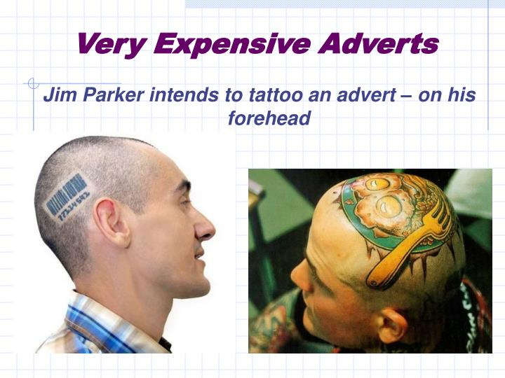 Very Expensive Adverts