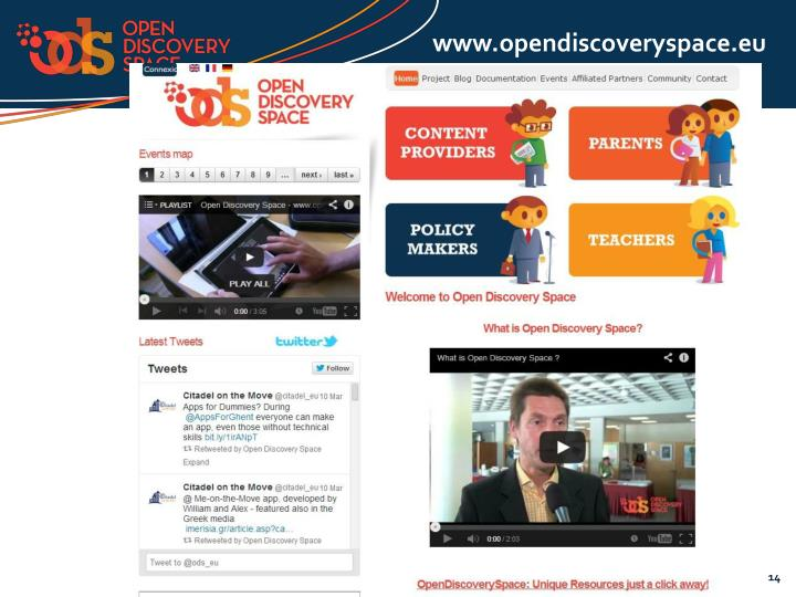 www.opendiscoveryspace.eu