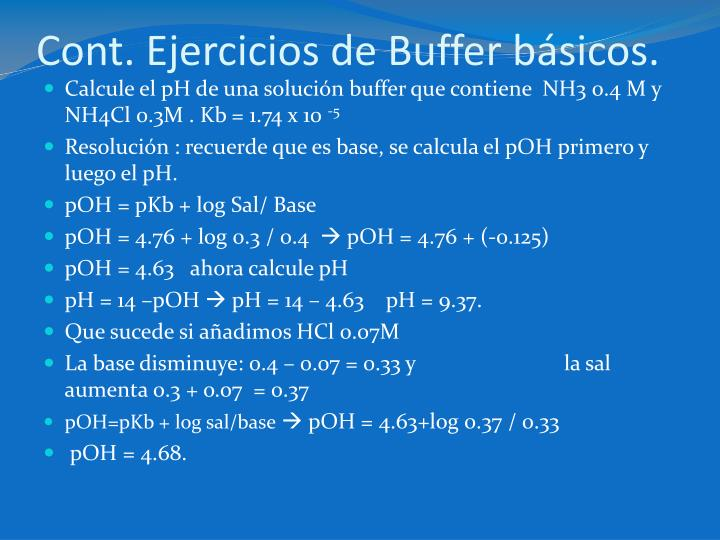 Cont. Ejercicios de Buffer básicos.