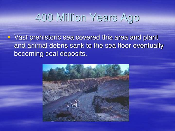 400 Million Years Ago