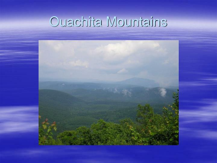 Ouachita Mountains