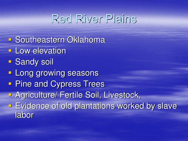 Red River Plains