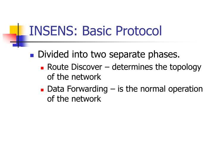 INSENS: Basic Protocol
