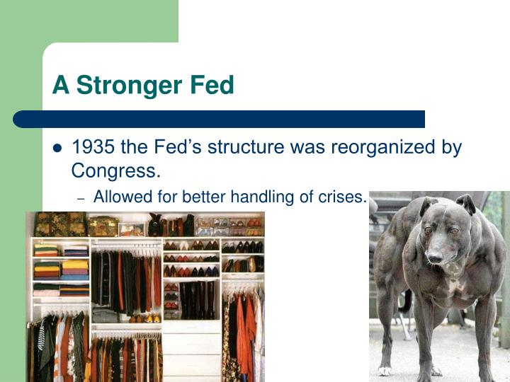A Stronger Fed