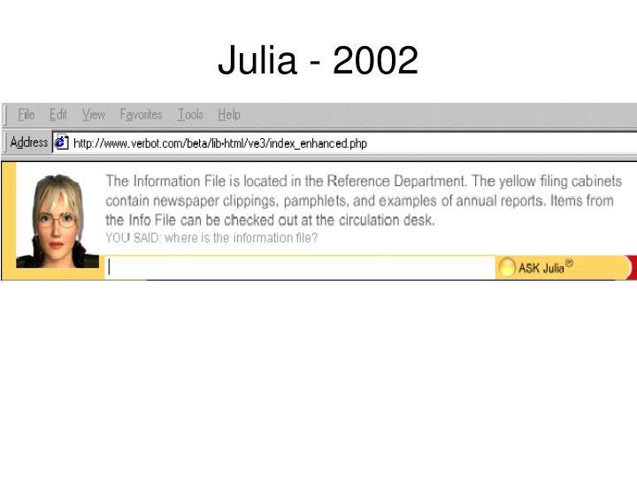 Julia - 2002
