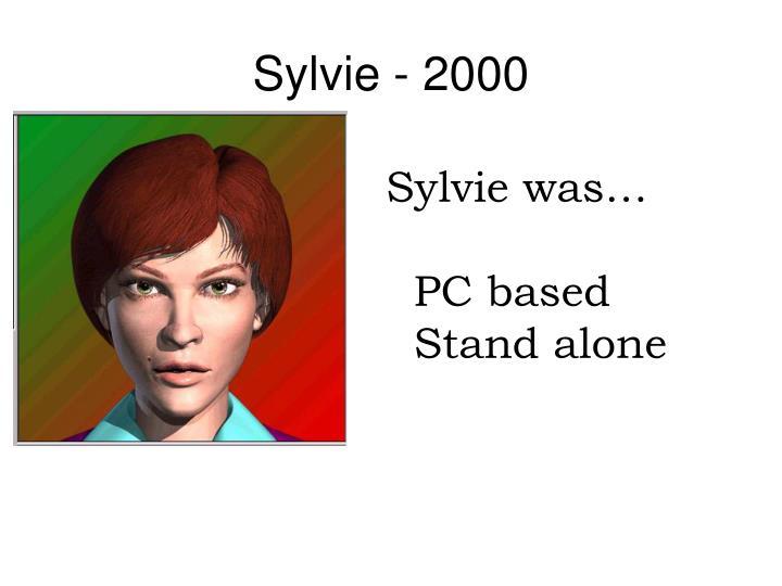 Sylvie - 2000