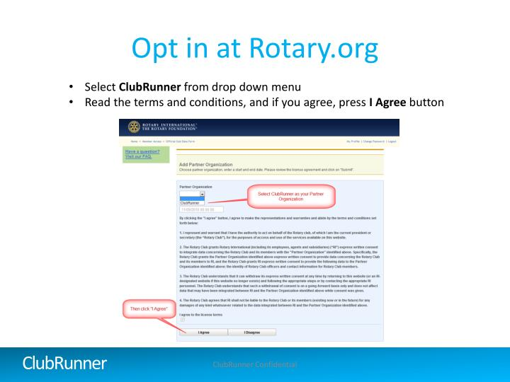 Opt in at Rotary.org