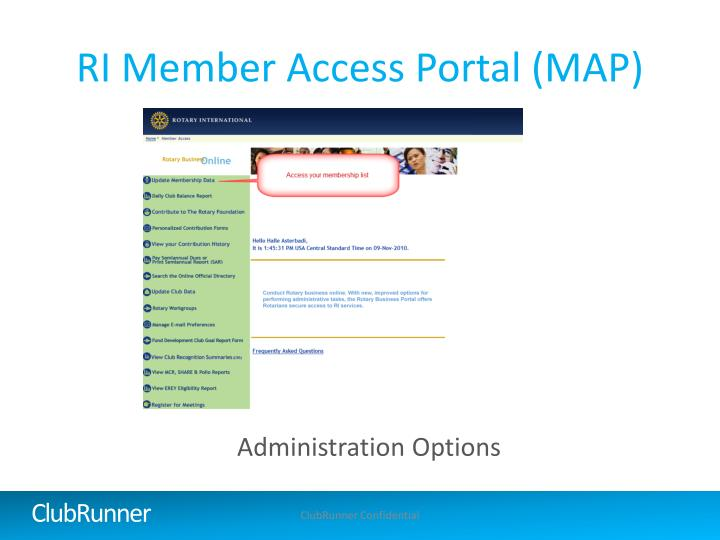 RI Member Access Portal (MAP)