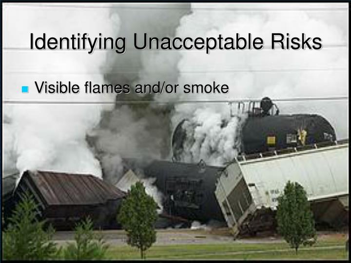 Identifying Unacceptable Risks