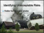 identifying unacceptable risks