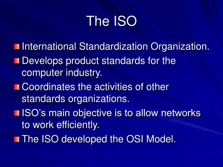 The ISO