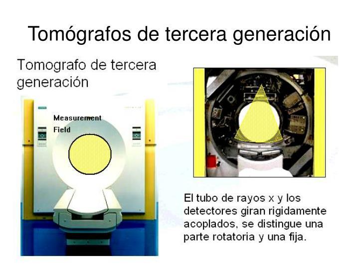 Tomógrafos de tercera generación