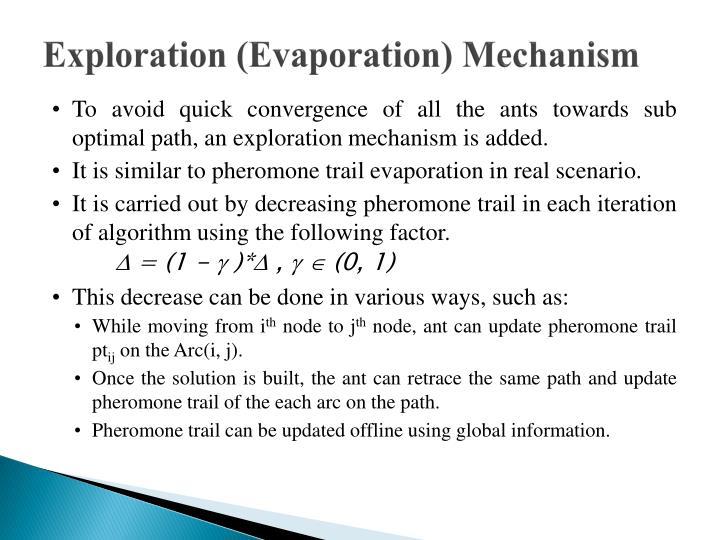Exploration (Evaporation) Mechanism