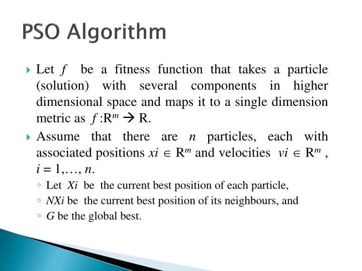 PSO Algorithm