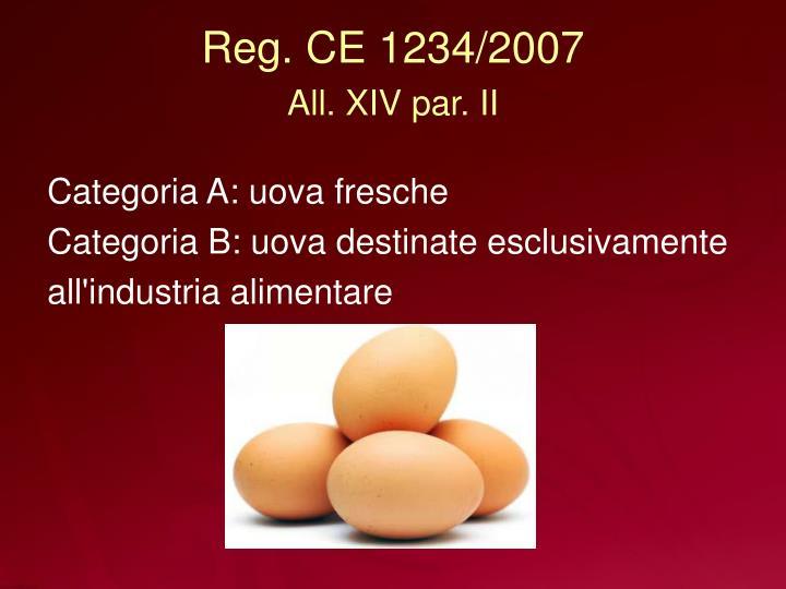 Reg. CE 1234/2007
