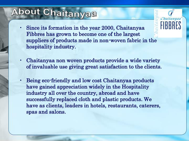 About Chaitanyaa