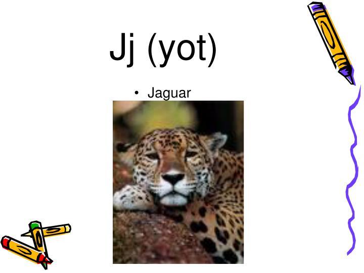 Jj (yot)