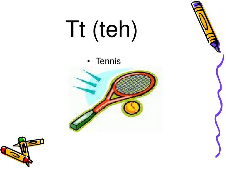 Tt (teh)